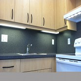 CORIAN DORM ROOM KITCHEN